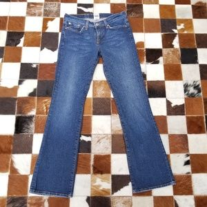 Lucky Brand Blue Jeans Ol Thunder Wash, size 4/27